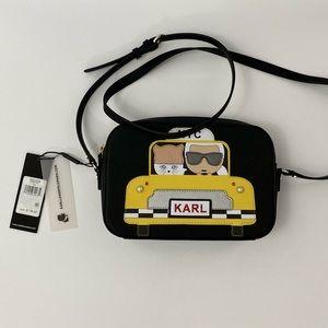 Karl Lagerfeld Paris Maybelle Taxi Crossbody Bag
